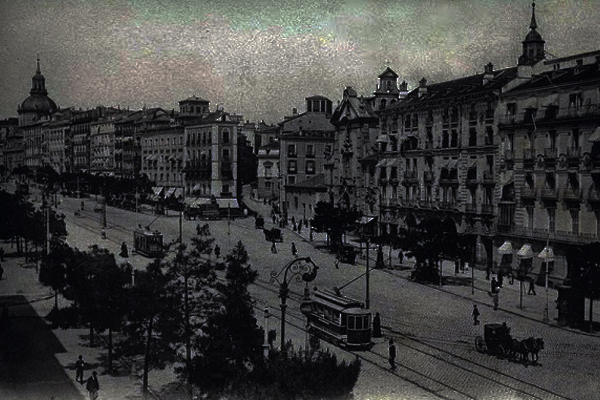 Madrid, hacia 1914