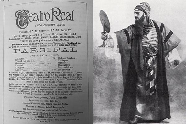 Programa del Parsifal y Klingsor ortodoxo